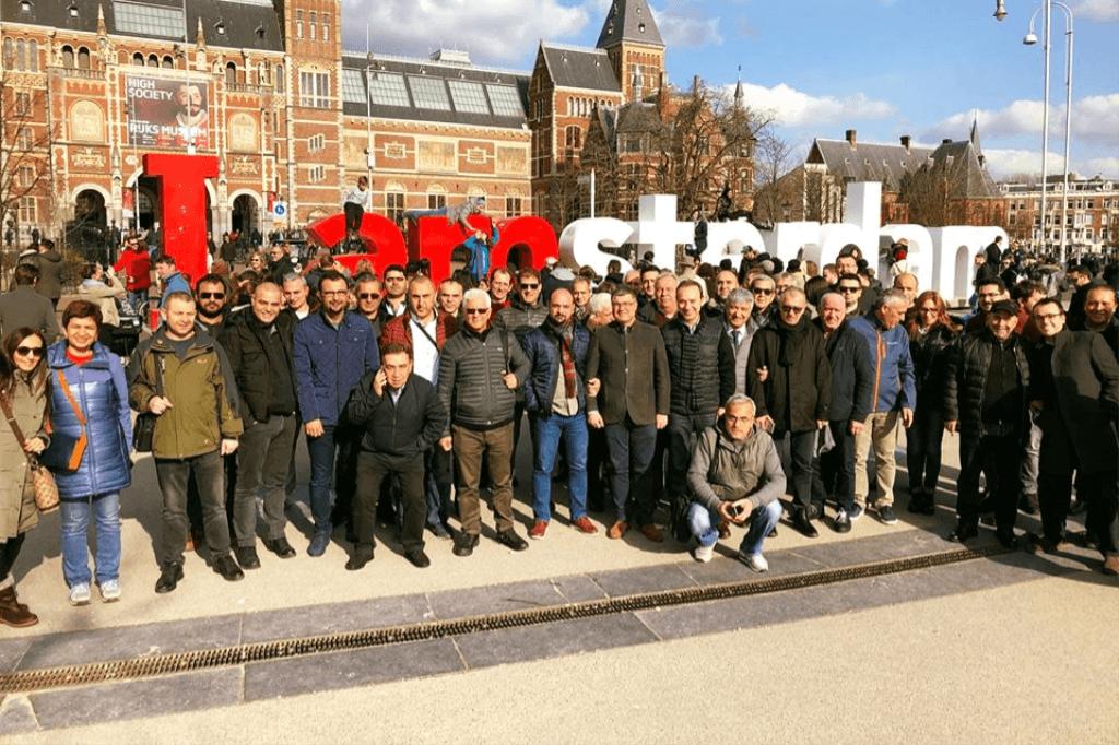 10. Teknopanel Bayi Toplantısı Amsterdam'da gerçekleşti.