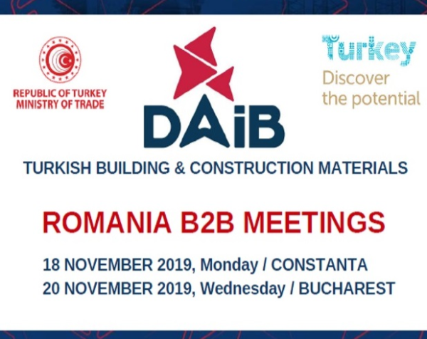 Eastern Anatolia Exporter's Association (DAIB)-Romania Bilateral Business Negotiations were Executed.