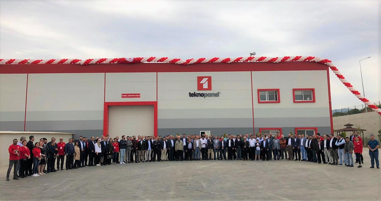 Teknopanel İzmir Fabrika Açılış Töreni Gerçekleşti.