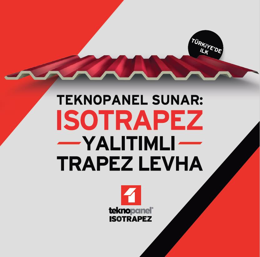 Teknopanel Sunar: Isotrapez Yalıtımlı Trapez Levha