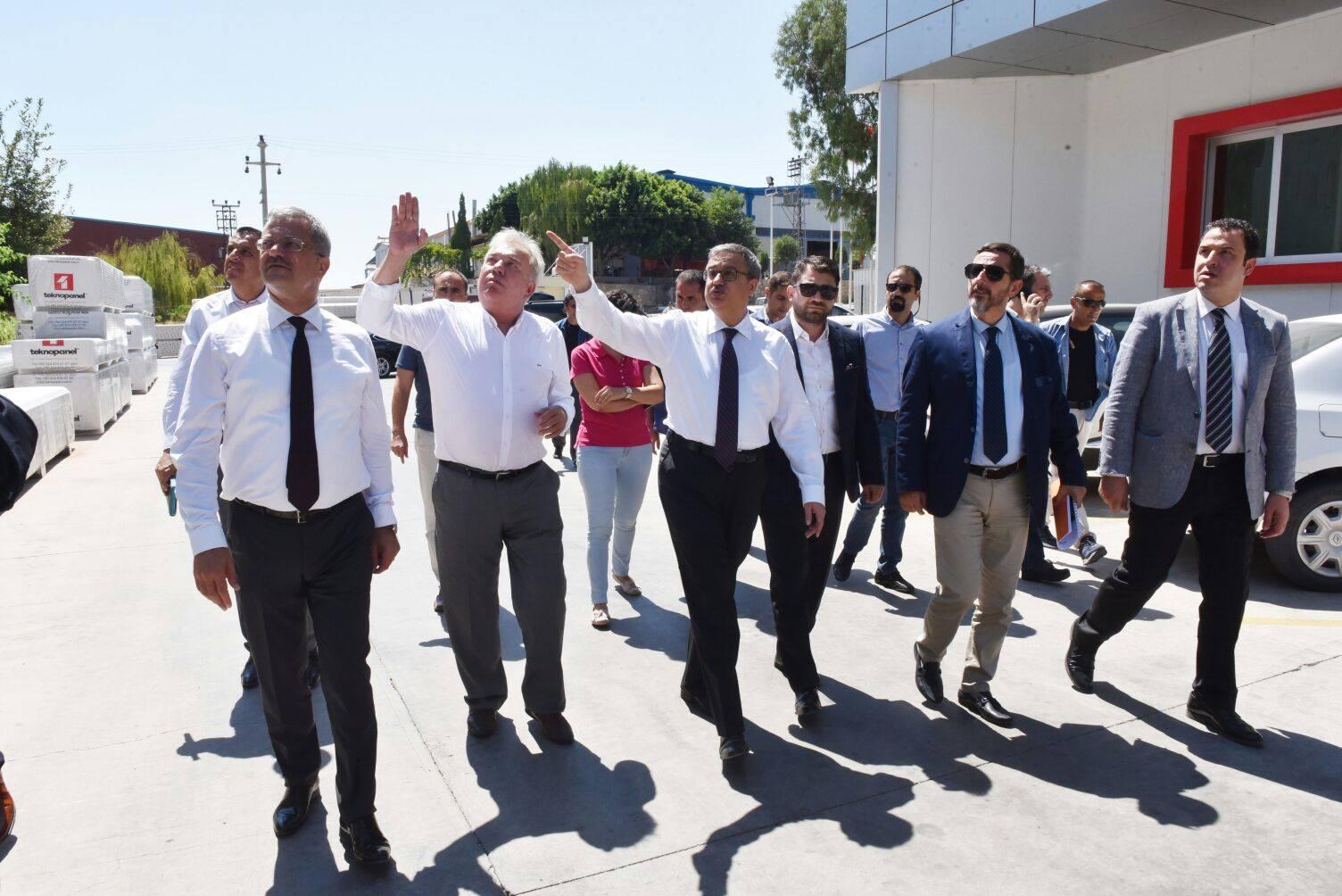 Yeni Mersin Valisi, Ali İhsan Su fabrikamızı ziyaretti etti.