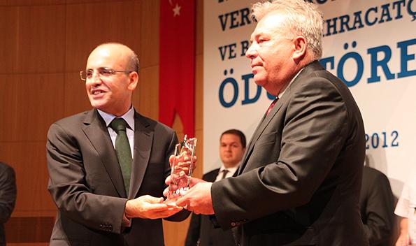 Teknopanel, Mersin Kurumlar Vergi Rekortmenleri Ödül Töreninde