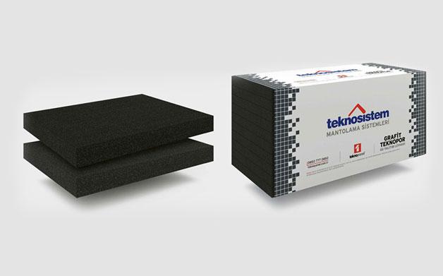 Graphite Teknopor Thermal Insulation Board