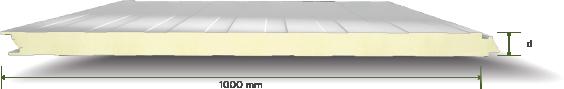 Gizli Vidalı Derin İzli Cephe Paneli-Mersin