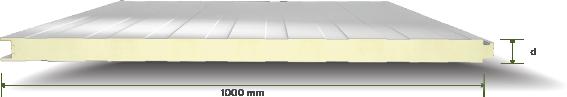 Standard Deep Lined Wall Panel