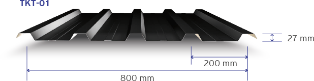 5 Hadveli Çatı/Cephe Trapezi-Mersin