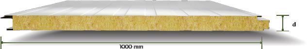 Taş Yünü Yalıtımlı Gizli Vidalı Cephe Paneli-Mersin