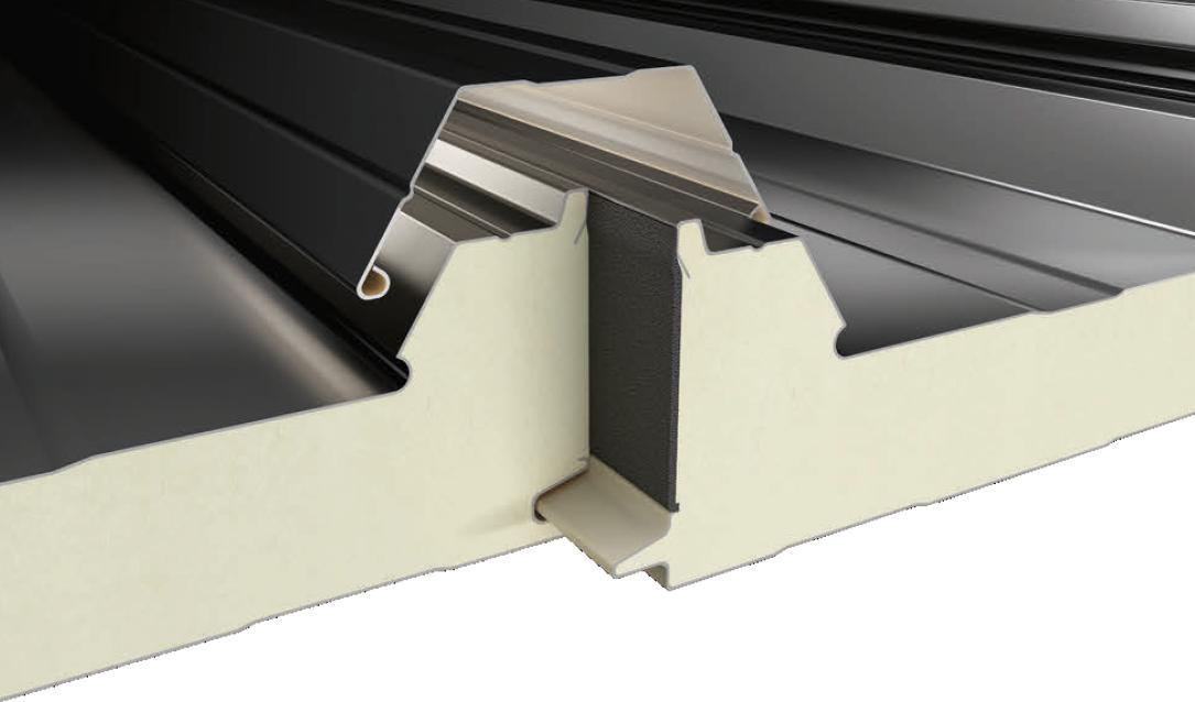 3 Hadveli Gizli Vidalı Çatı Paneli