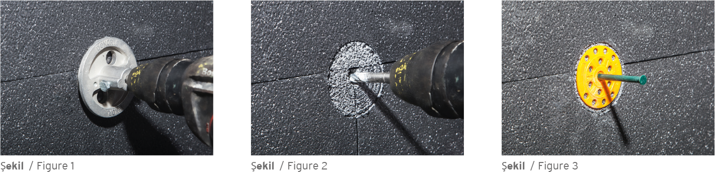 Application Of Wall Plugs On EPS Thermal Insulation Board